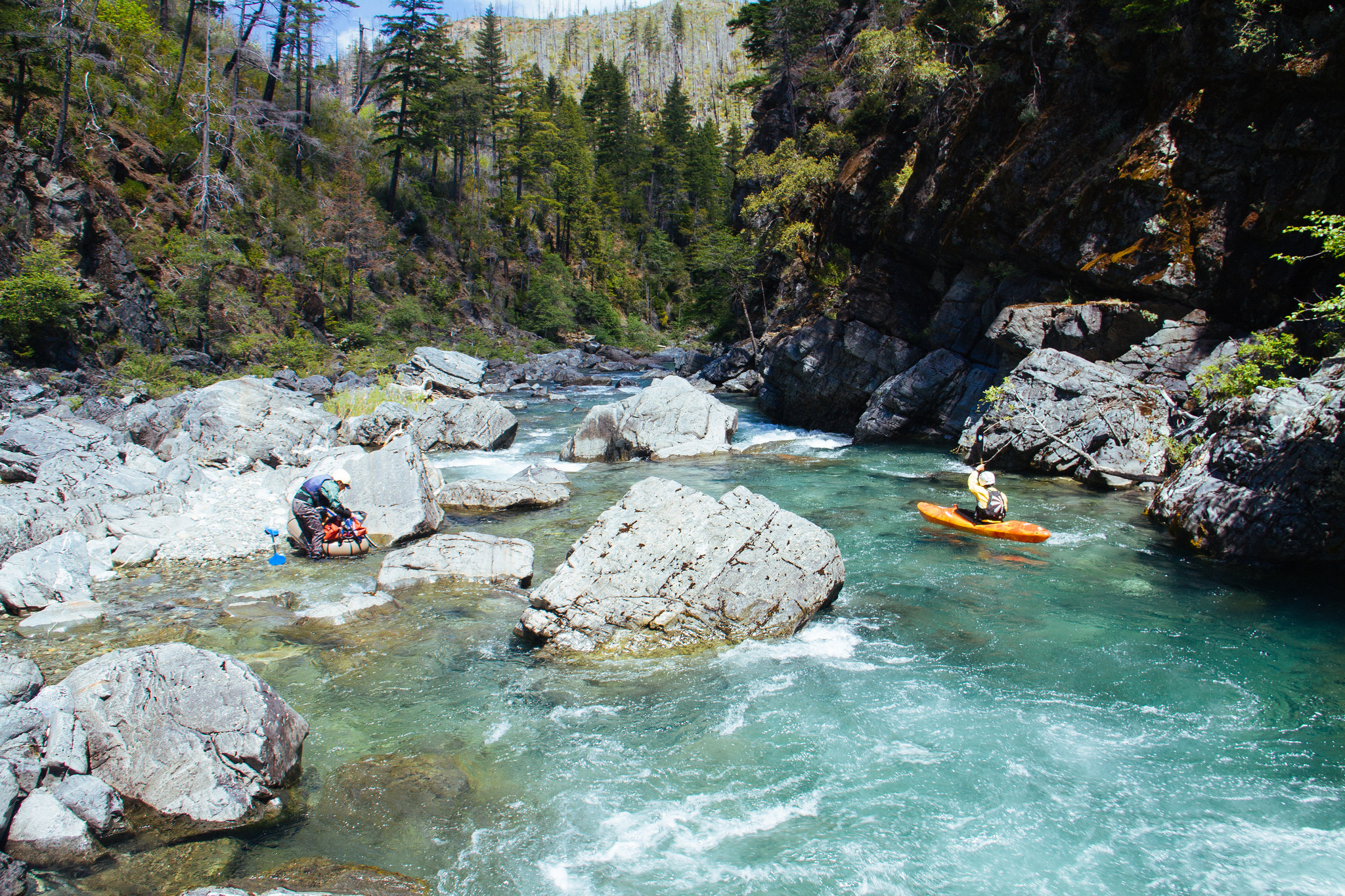 Chetco River Kayaking