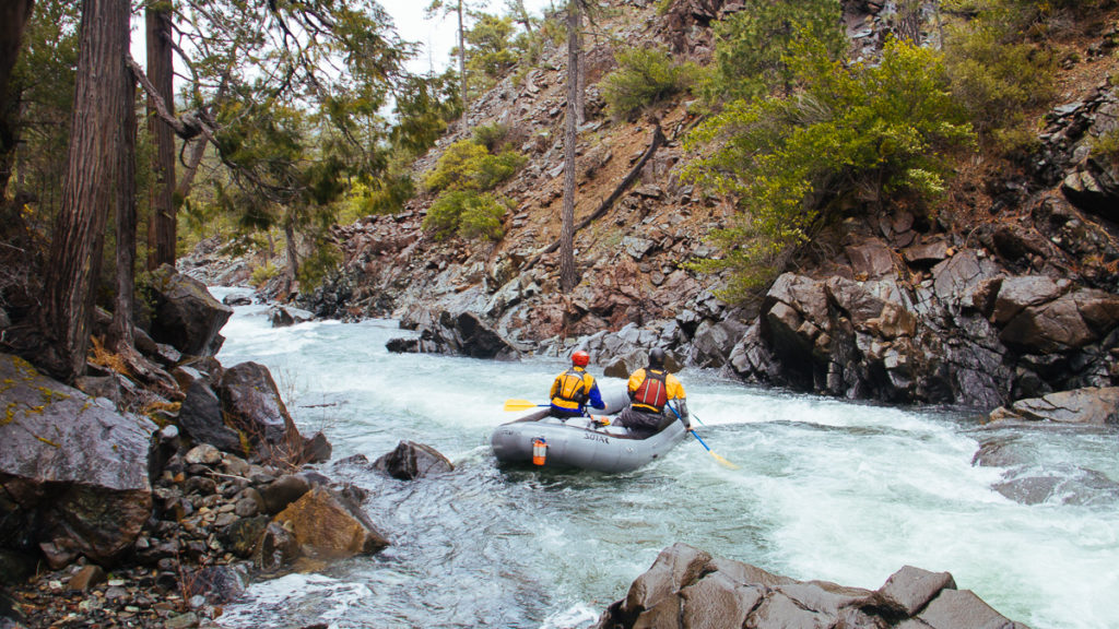 Rafting on Josephine Creek