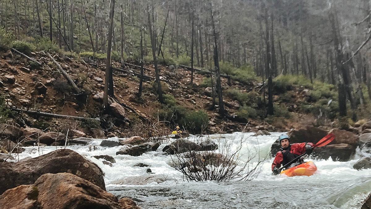 Kayaking Fresno Creek